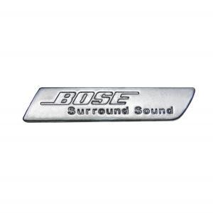 Заглушка (шильдик) музыкальной системы BOSE AUDI A6 C6 (хромированная)