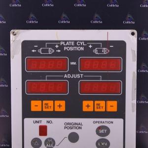 Плата панели управления регистрами офсетной машины Sakurai OLIVER